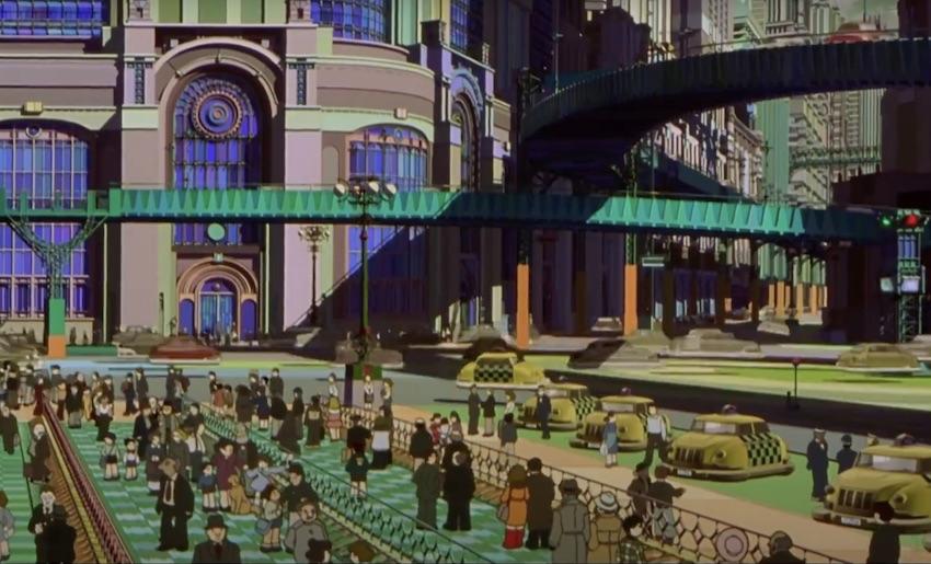 Metropolis anime Tezuka - 9