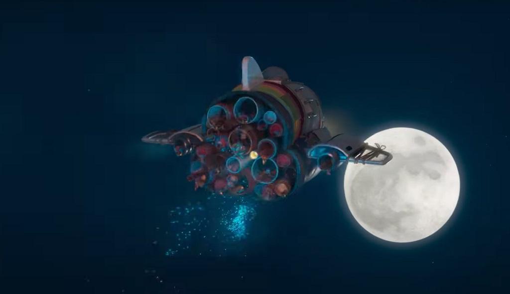 Over the Moon- Il fantastico mondo di Lunaria film netflix