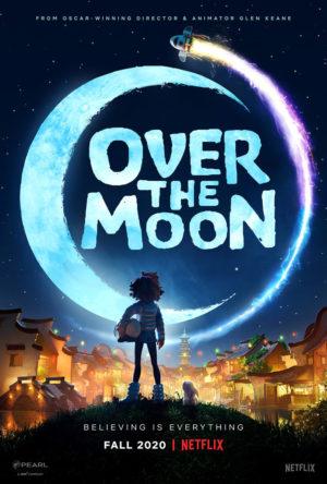 Over the Moon- Il fantastico mondo di Lunaria film poster netflix
