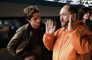 Timur Bekmambetov e James McAvoy in Wanted (2008)