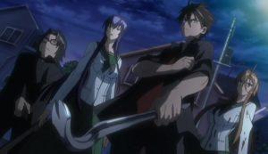 highschool of the dead anime 2010 serie