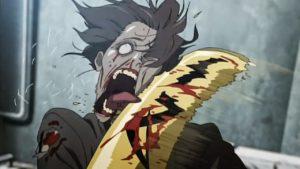 highschool of the dead anime serie 2010 zombie