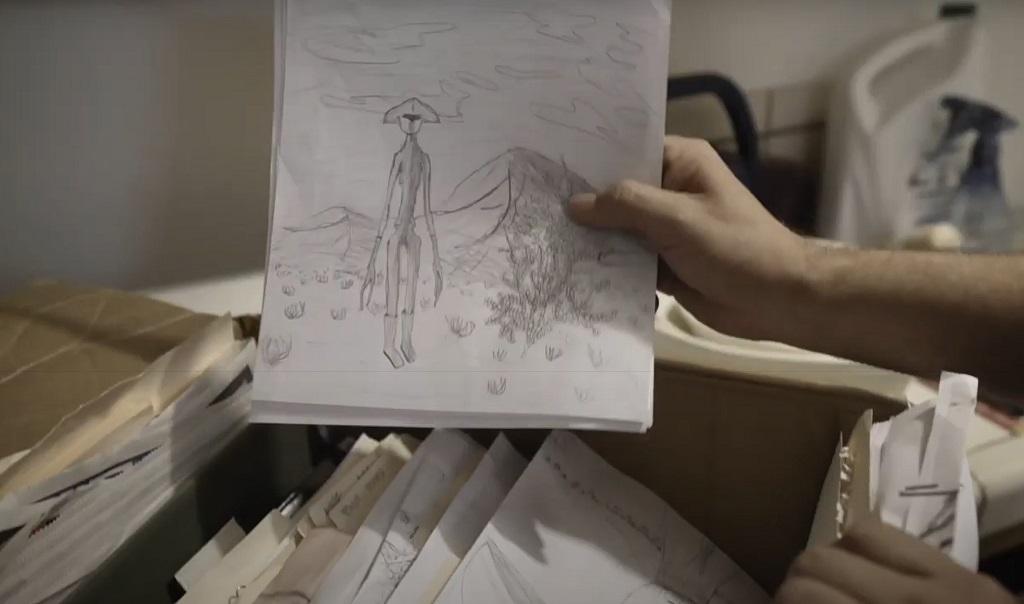 skyman film 2020 UFO
