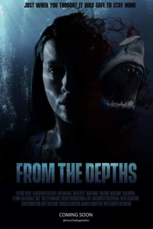FROM THE DEPTHS film horror 2020 poster