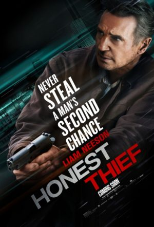 Honest Thief film Poster 2020