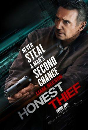 Honest Thief film Poster 2020