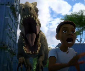 Jurassic World Camp Cretaceous serie netflix