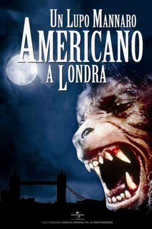 Un lupo mannaro americano a Londra poster film