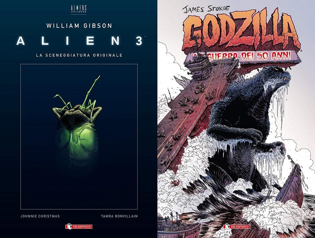 alien 3 + godzilla saldapress 2020