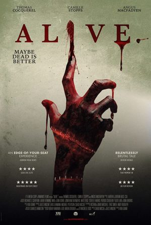 alive film horror 2020 poster rob grant
