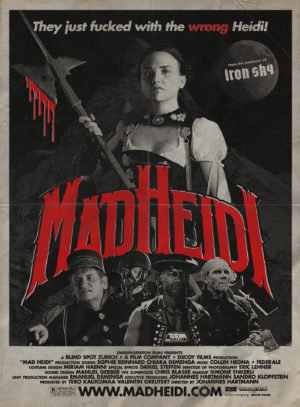 mad heidi film poster 2020