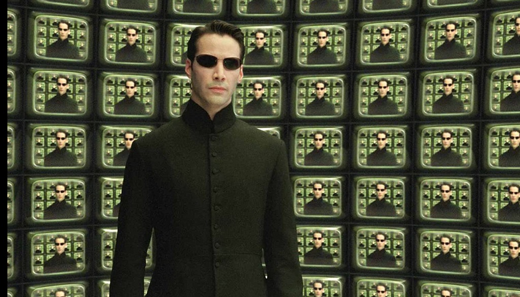 matrix reloaded keanu 2003