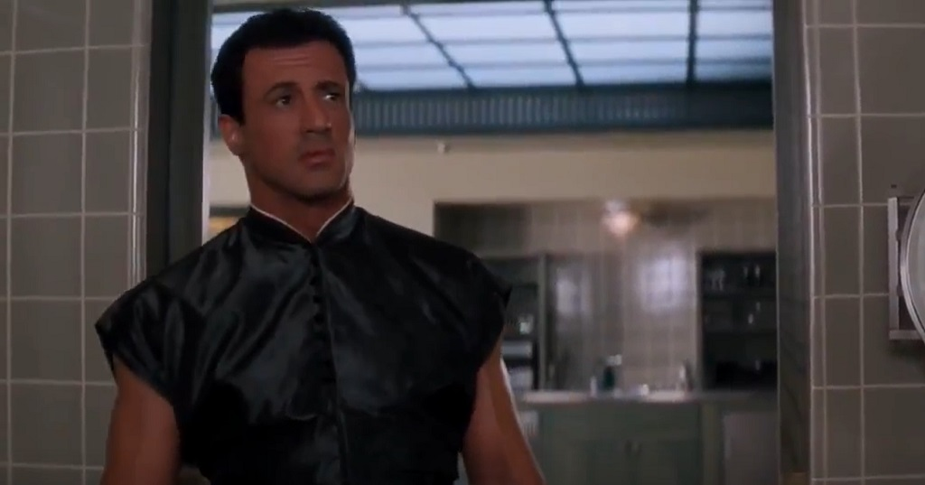 stallone demolition man bagno