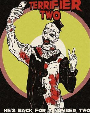 terrifier 2 film poster 2020