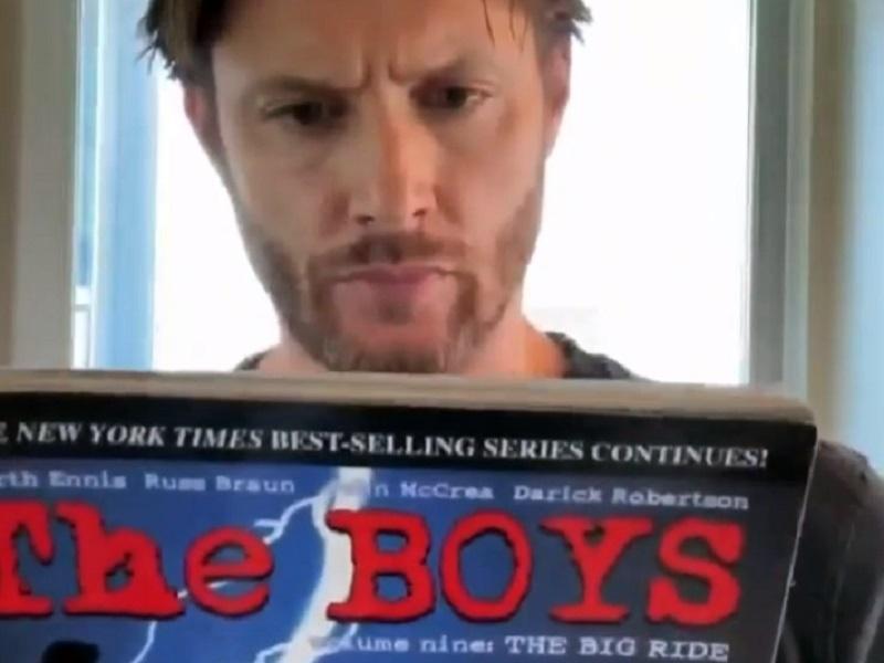 The Boys serie Jensen Ackles