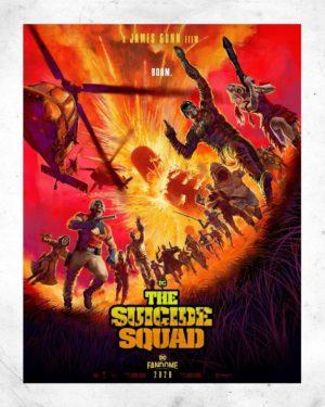 The Suicide Squad - Missione suicida film poster 2021