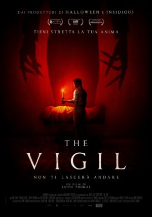 The Vigil film horror poster ITA 2020