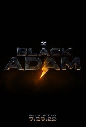 black adam poster film 2022