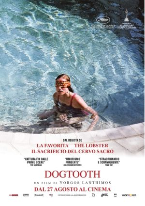 dogtooth film 2009 poster ITA