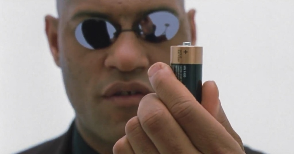 morpheus matrix film 1999