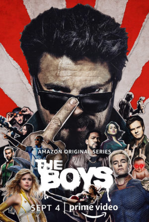 the boys serie 2 amazon poster