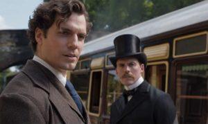 Henry Cavill e Sam Claflin in Enola Holmes (2020)