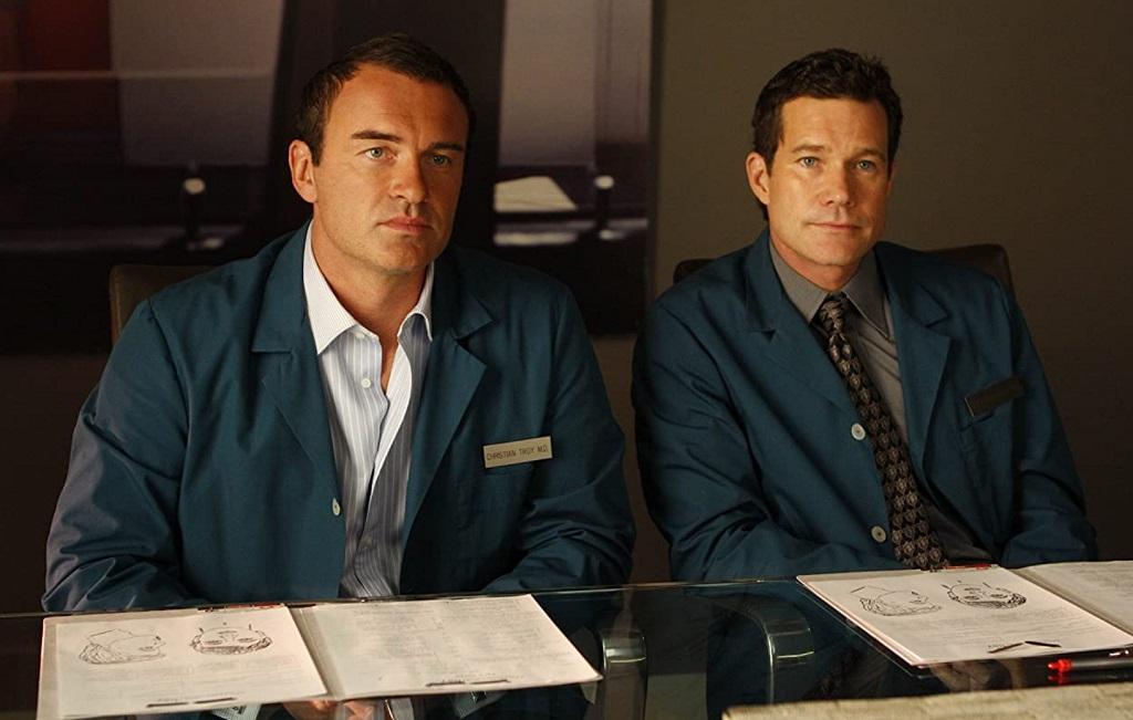 Julian McMahon e Dylan Walsh in Nip Tuck (2003)