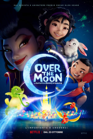 Over the Moon - Il fantastico mondo di Lunaria film poster 2020
