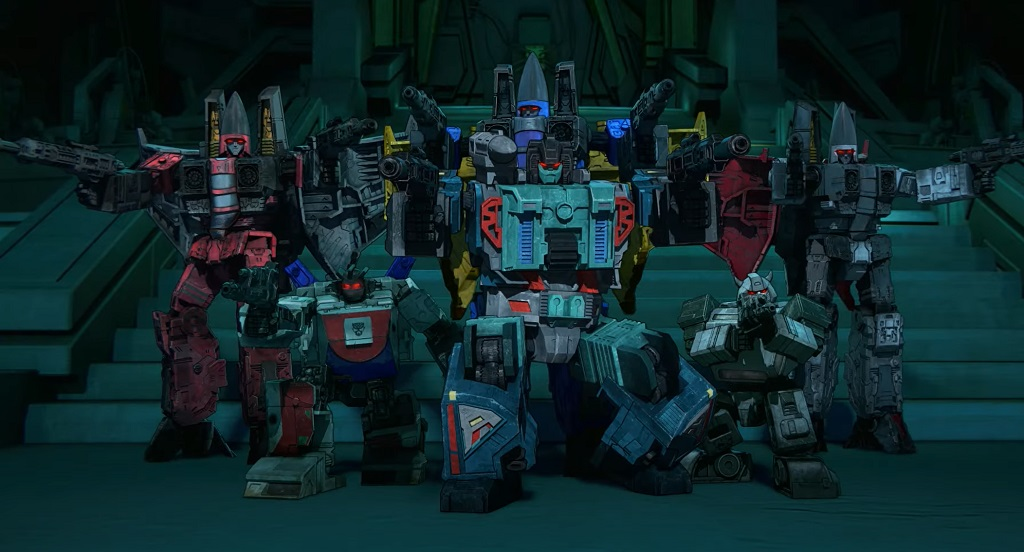 Transformers War for Cybertron Trilogy - Il sorgere della Terra netflix film