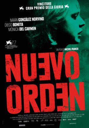 nuevo orden film poster 2020