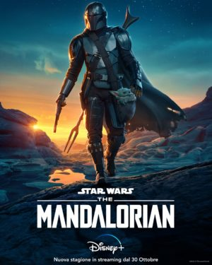 the mandalorian stagione 2 poster ita