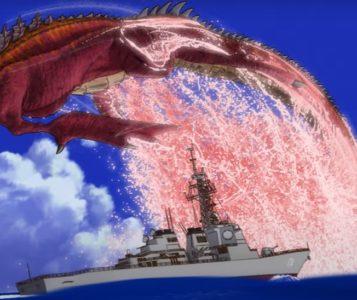Godzilla Singular Point serie netflix 2021