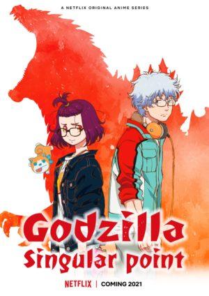 Godzilla Singular Point serie netflix poster