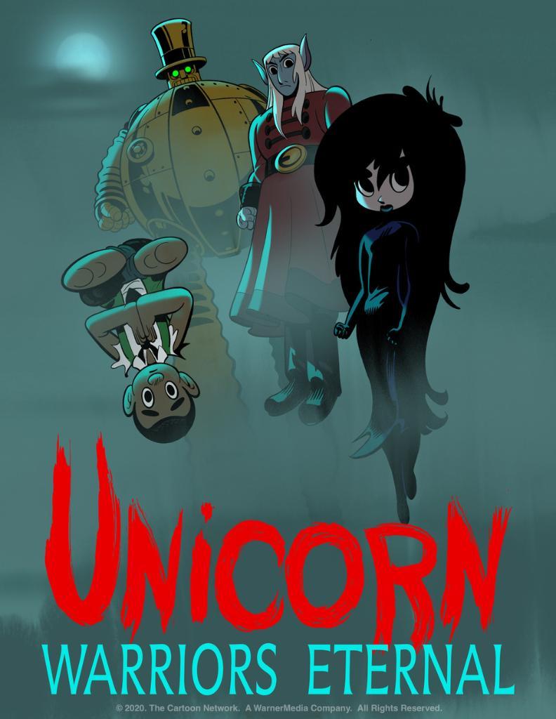 Unicorn warriors eternal serie animata Genndy Tartakovsky poster