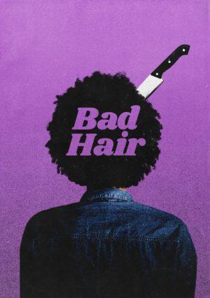 bad hair film poster 2020