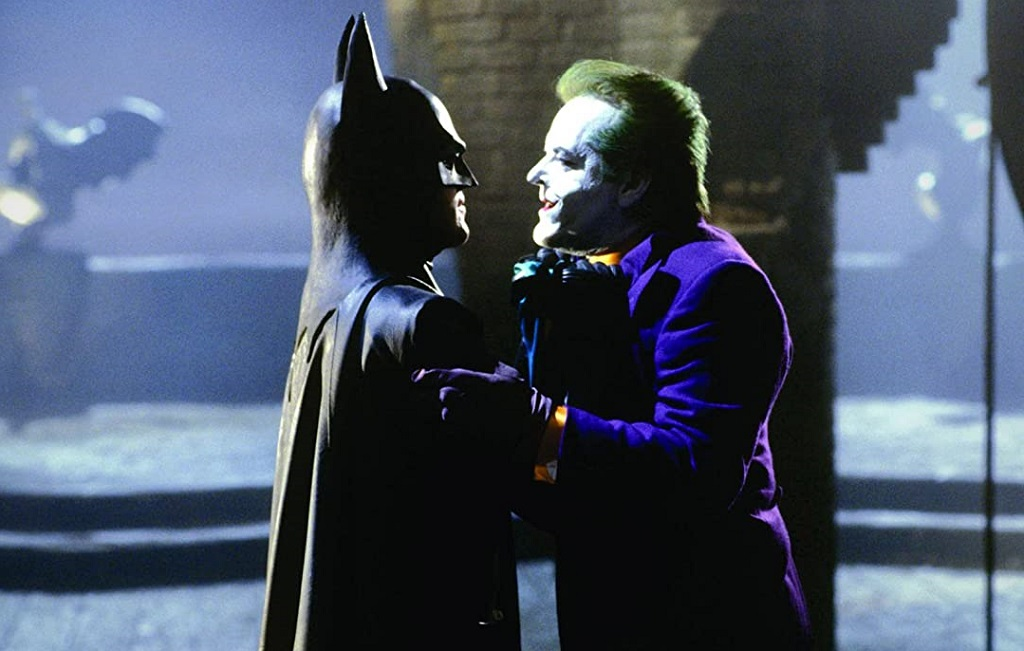 joker e batman film 1989