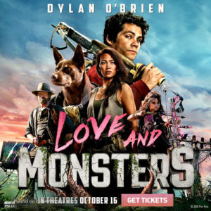 love and monsters film 2020 poster