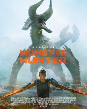 monster hunter film 2020 poster