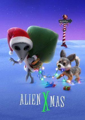 alien xmas film 2020 netflix poster