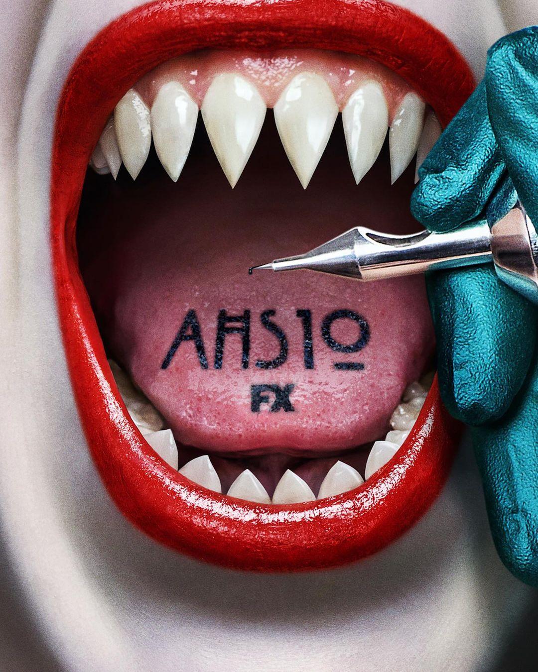 american horror story 10 serie 2021 poster