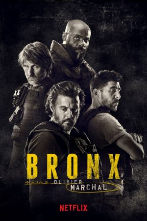 bronx - rogue city film 2020 poster