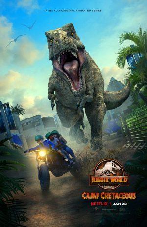 Jurassic World Nuove avventure stagione 2 serie netflix poster