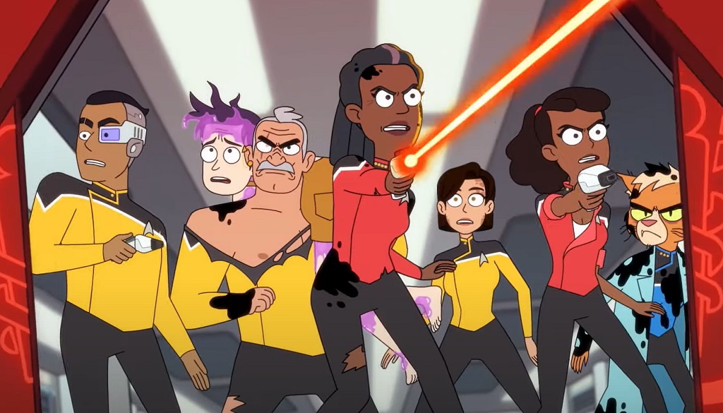 Star Trek Lower Decks serie amazon