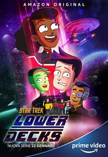 Star Trek Lower Decks serie poster ITA