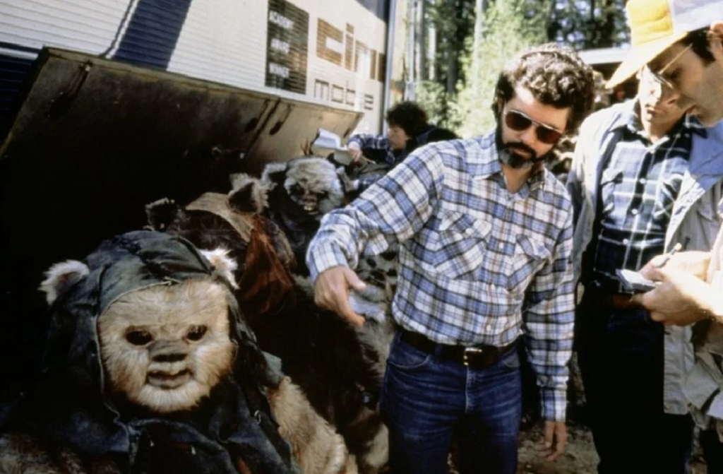 george lucas set star wars