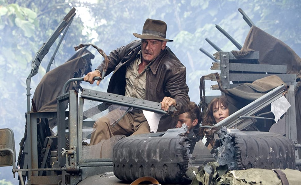 harrison ford indiana jones teschio di cristallo