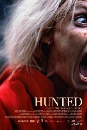 hunted film shuedder Vincent Paronnaud poster