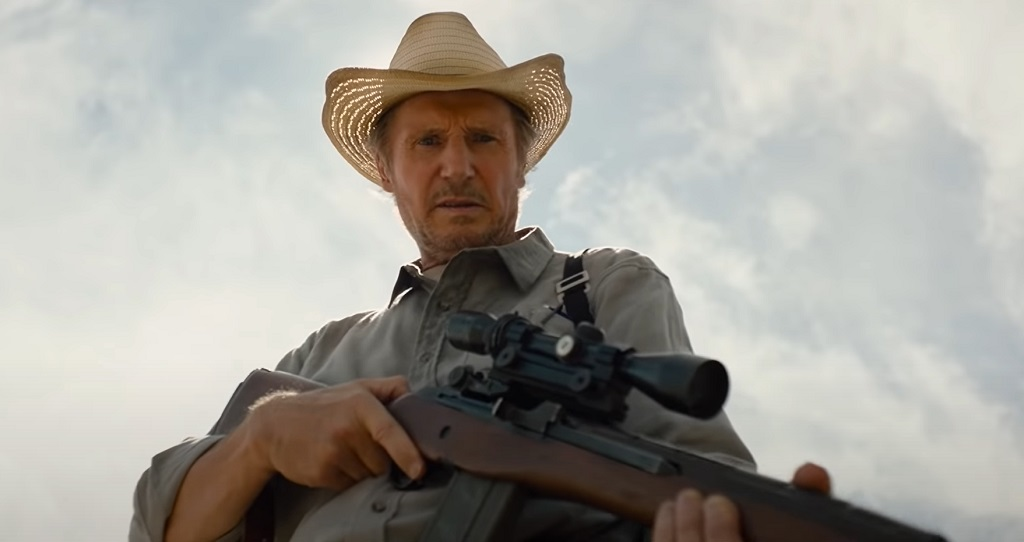 the marksman film liam neeson