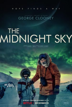 the midnight sky poster film netflix