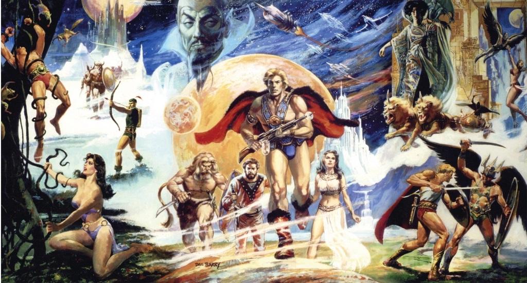 flash gordon film concept poster uomo leone